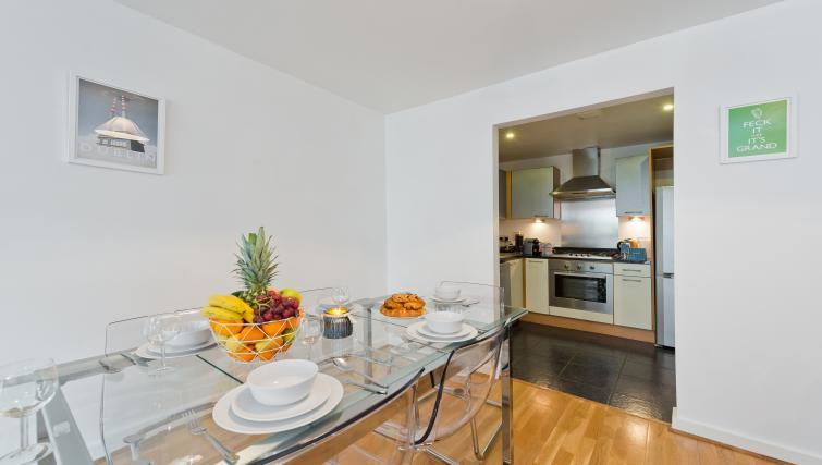 Kitchenette at Barrow Street Serviced Apartments - Citybase Apartments