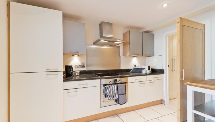 Kitchen at Barrow Street Serviced Apartments - Citybase Apartments