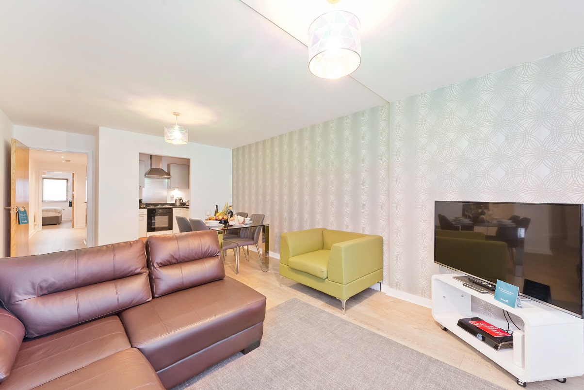 TV at Barrow Street Serviced Apartments - Citybase Apartments