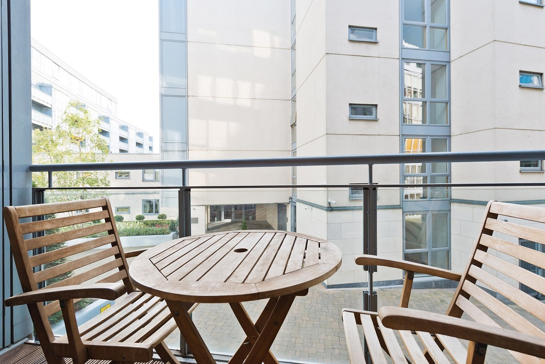 Balcony at Barrow Street Serviced Apartments - Citybase Apartments