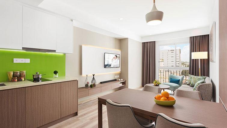 TV at Citadines Regency Saigon Apartments - Citybase Apartments