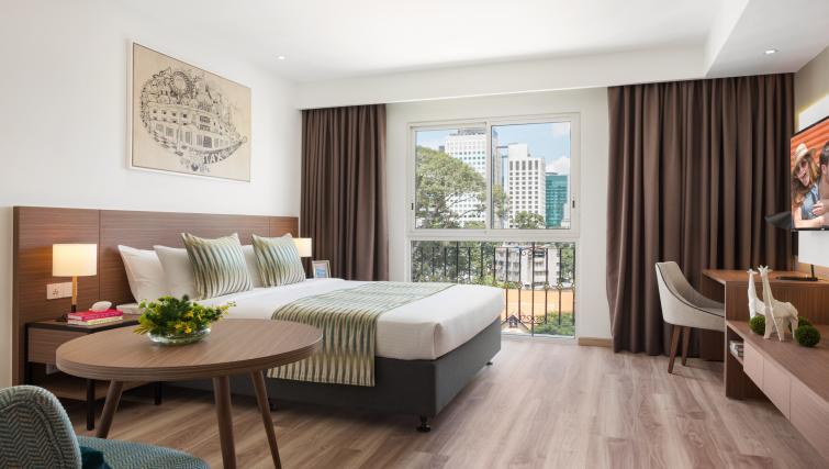 Bedroom at Citadines Regency Saigon Apartments - Citybase Apartments
