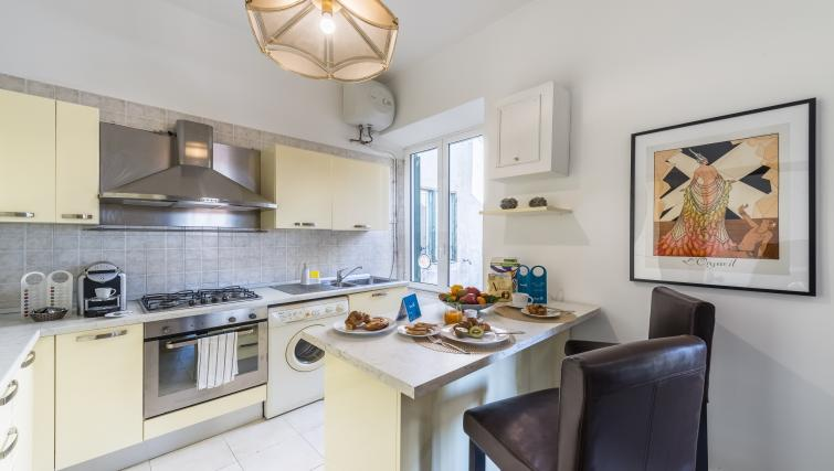 Kitchen at Nazionale Apartments - Citybase Apartments