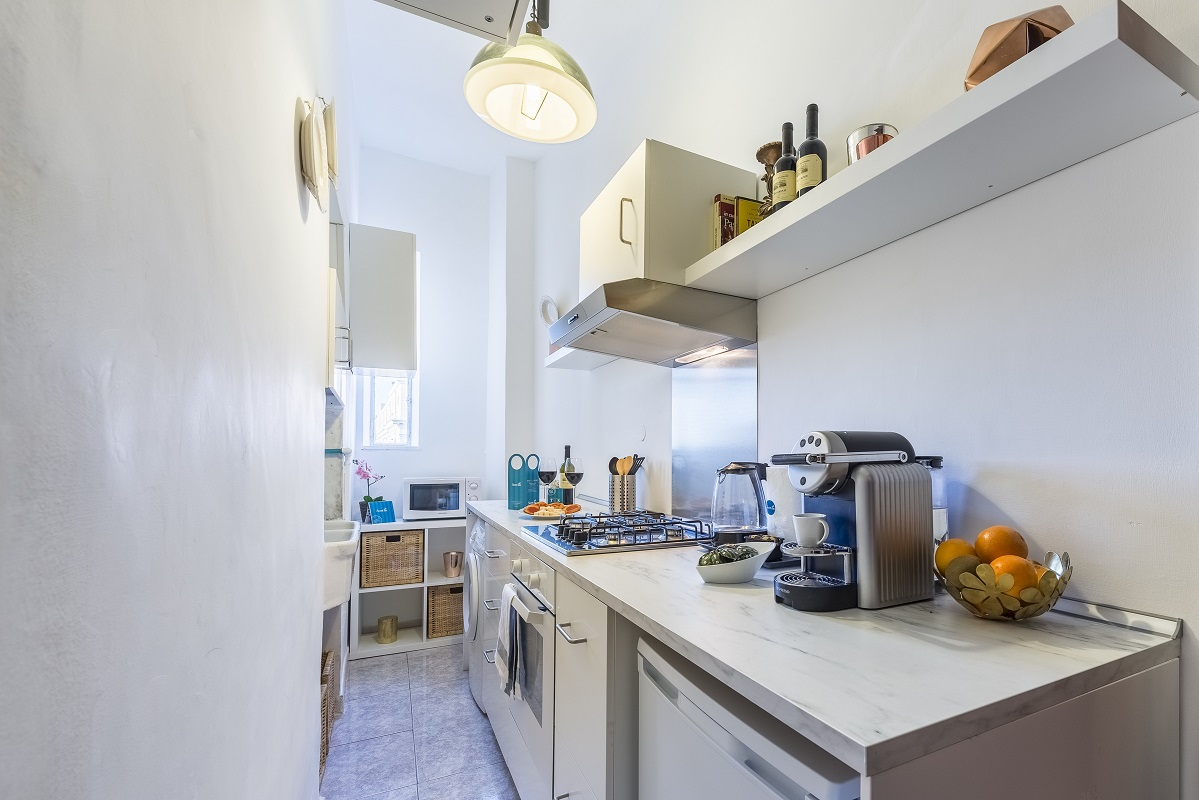 Kitchen facilities at Nazionale Apartments - Citybase Apartments