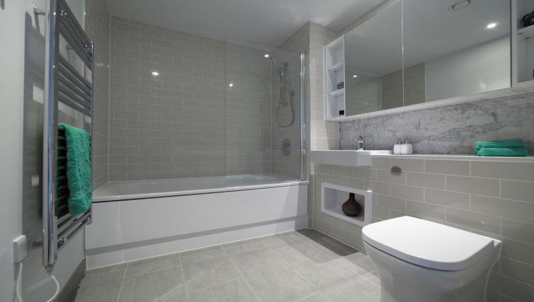 Bathroom at Elephant Park Apartments - Citybase Apartments