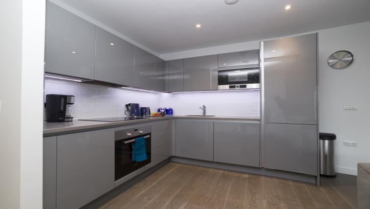 Kitchen at Elephant Park Apartments - Citybase Apartments