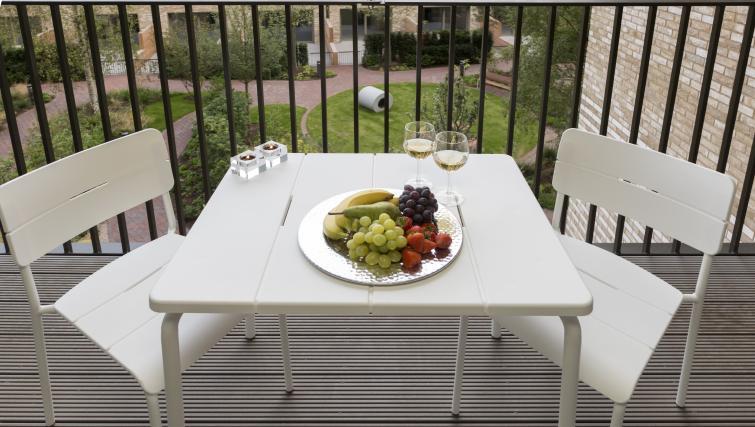 Balcony at Elephant Park Apartments - Citybase Apartments