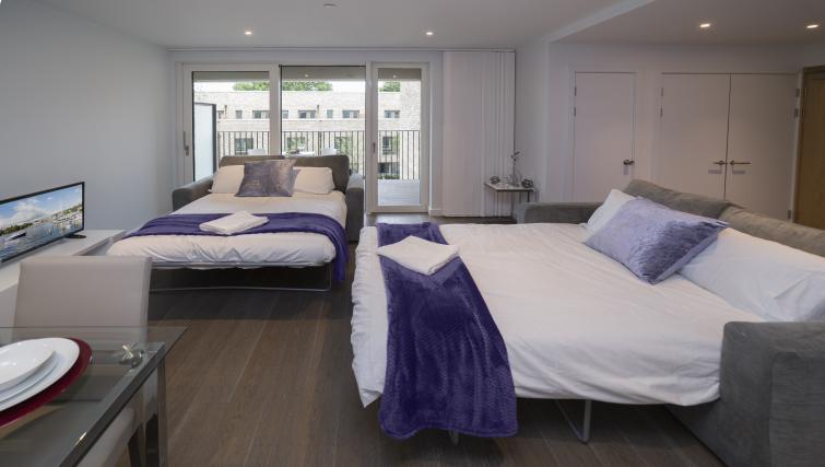 Sofa beds atElephant Park Apartments - Citybase Apartments