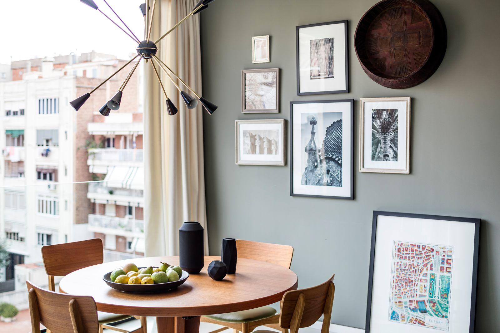 Dining area at Onsider Apartments, Sarriá-Sant Gervasi, Barcelona - Citybase Apartments