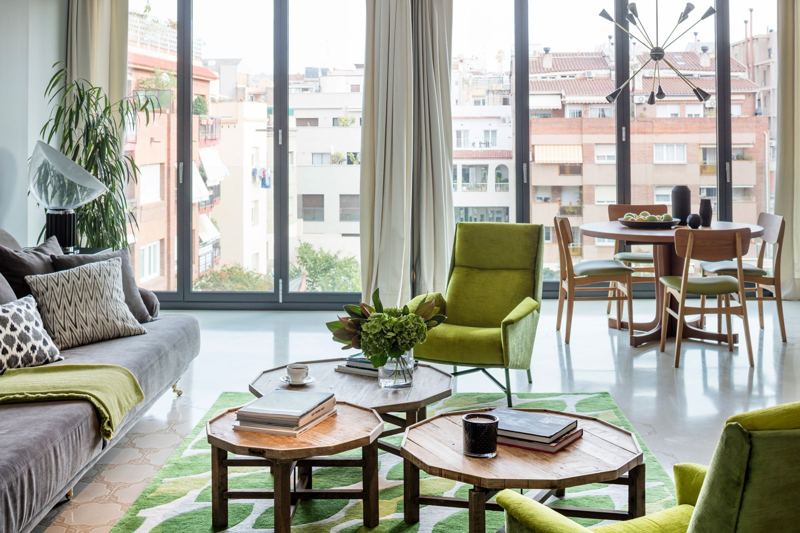Seat at Onsider Apartments, Sarriá-Sant Gervasi, Barcelona - Citybase Apartments