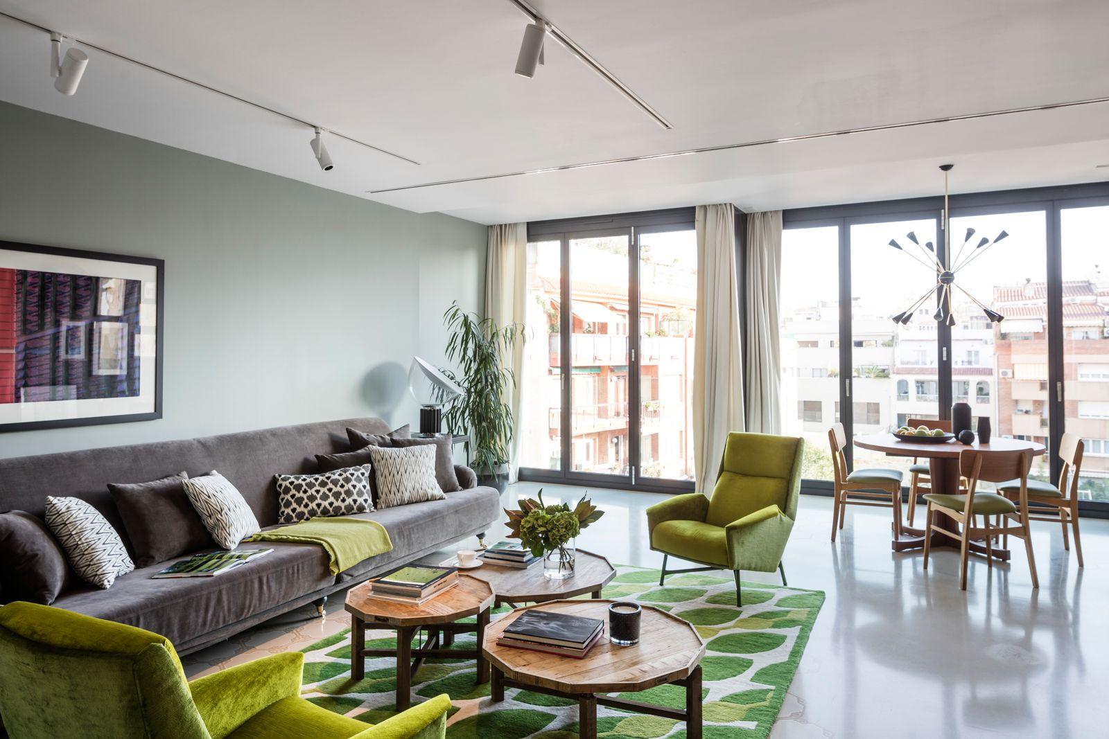 Living room at Onsider Apartments, Sarriá-Sant Gervasi, Barcelona - Citybase Apartments