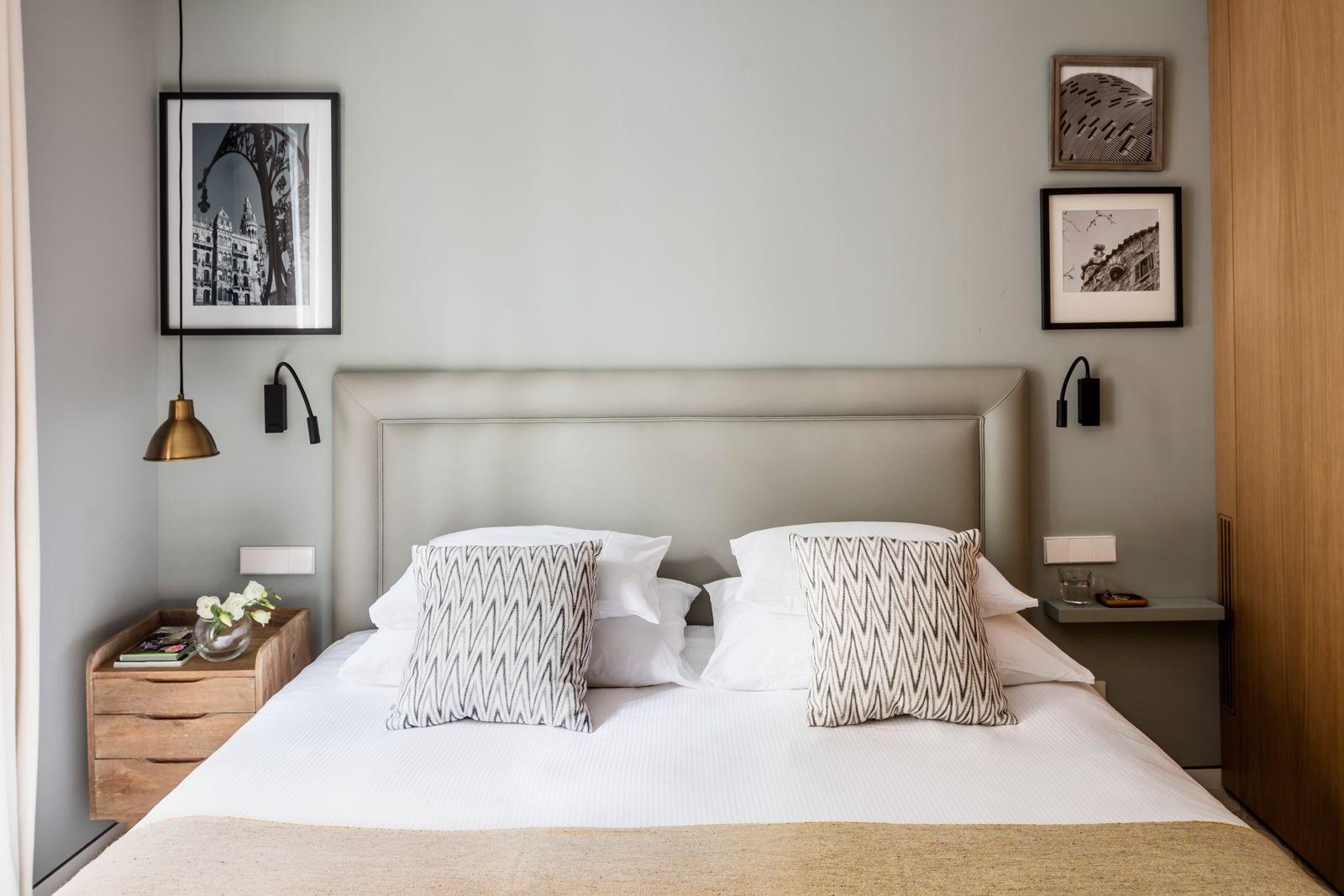 Bed at Onsider Apartments, Sarriá-Sant Gervasi, Barcelona - Citybase Apartments