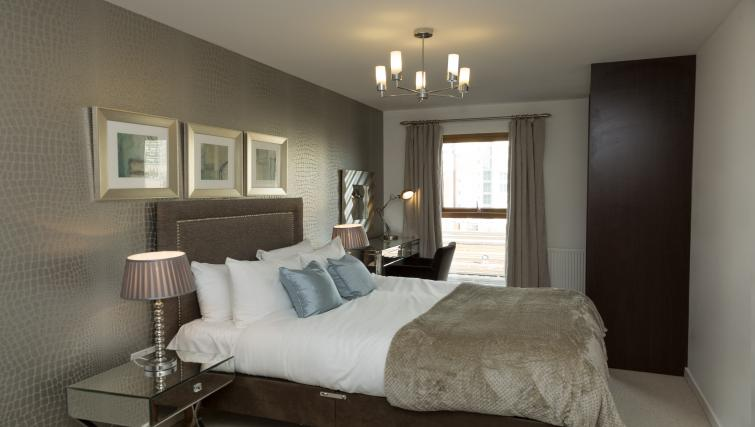 Bedroom at Tower Bridge Serviced Apartments - Citybase Apartments