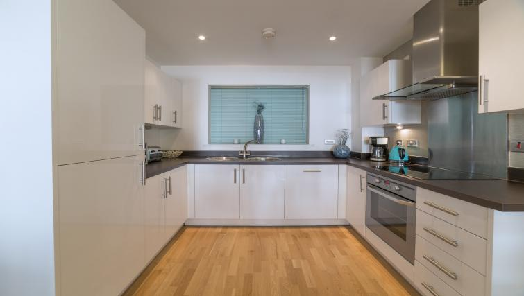 Kitchen at Tower Bridge Serviced Apartments - Citybase Apartments