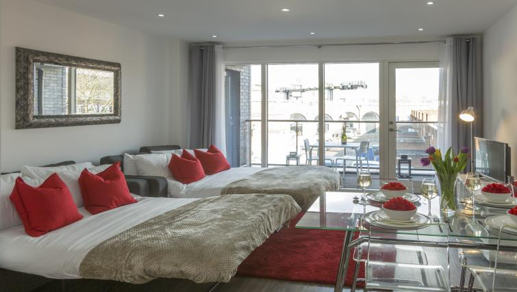 TV at Tower Bridge Serviced Apartments - Citybase Apartments