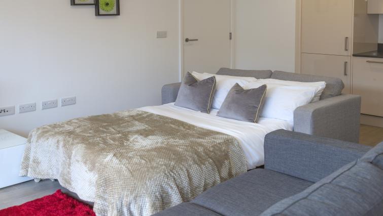 Sofa bed at Tower Bridge Serviced Apartments - Citybase Apartments