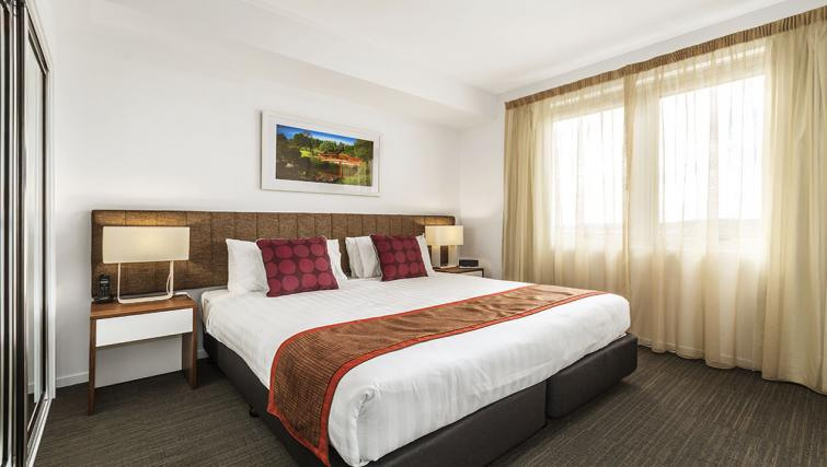 Bedroom at Quest Toowoomba Apartments - Citybase Apartments