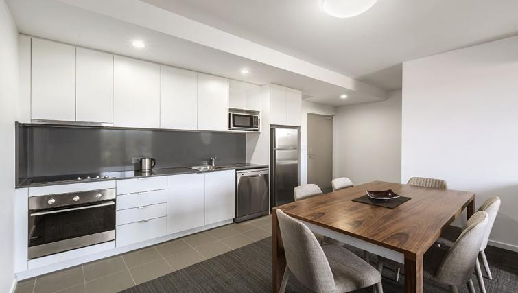 Kitchen at Quest Toowoomba Apartments - Citybase Apartments