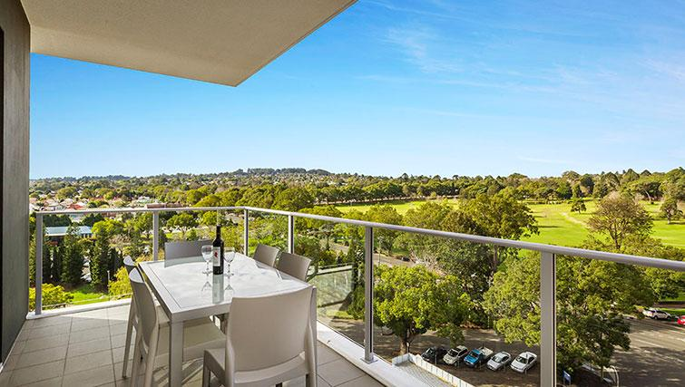 Balcony at Quest Toowoomba Apartments - Citybase Apartments