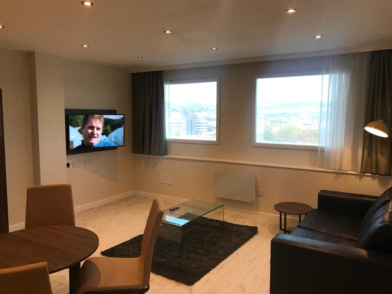 TV at Quay Apartments Newport - Citybase Apartments