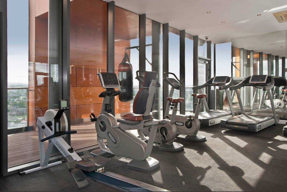 Gym at Red BA Skyline Central Apartments - Citybase Apartments