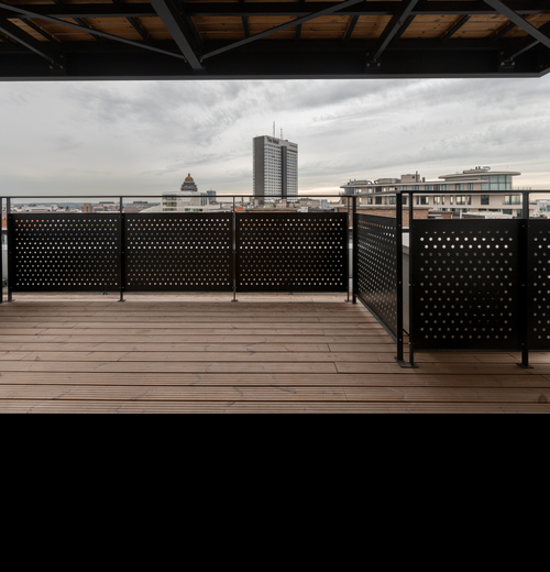Balcony at Stassart Apartments - Citybase Apartments