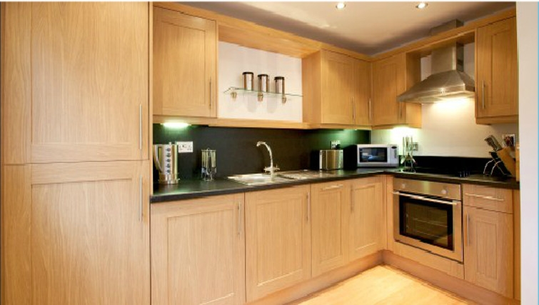 Stylish kitchen in Old Library Apartments - Citybase Apartments