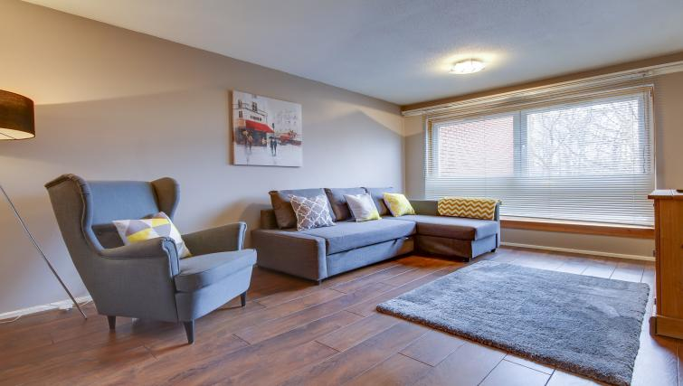 Living room at Azura Apartment - Citybase Apartments