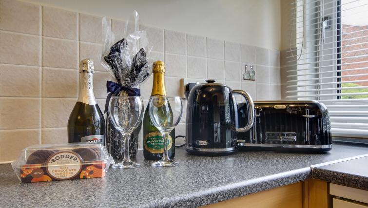 Kitchen facilities at Azura Apartment - Citybase Apartments