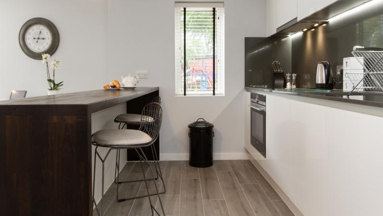 Modern kitchen at Eagle Yard Apartments - Citybase Apartments