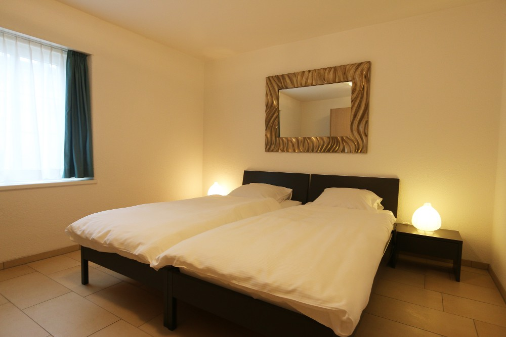 Bedroom at River Residence Apartments - Citybase Apartments