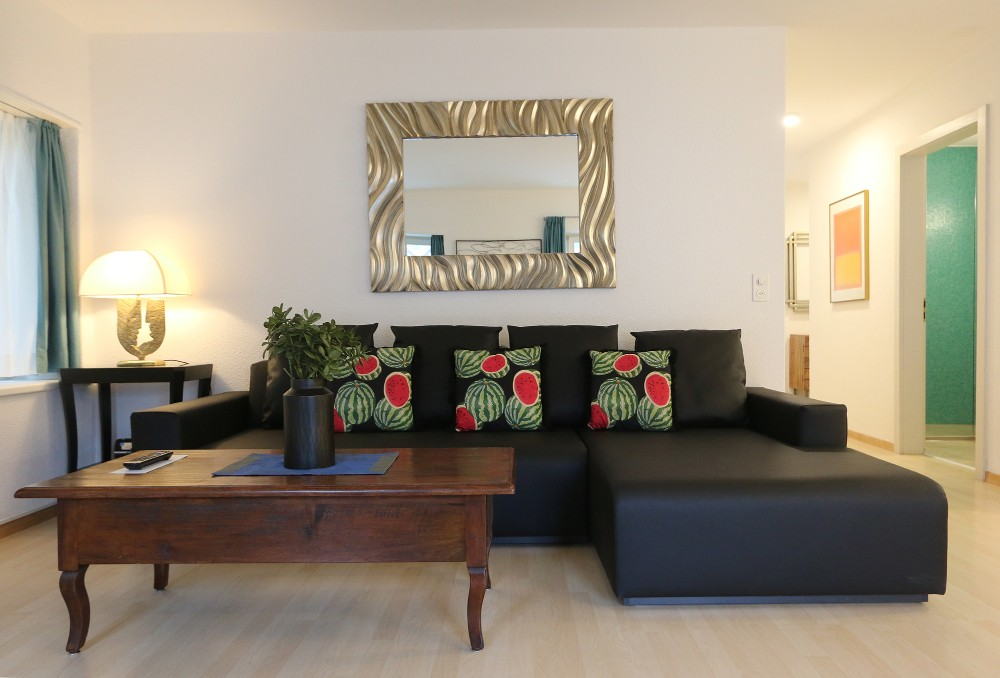 Comfortable living area at River Residence Apartments - Citybase Apartments