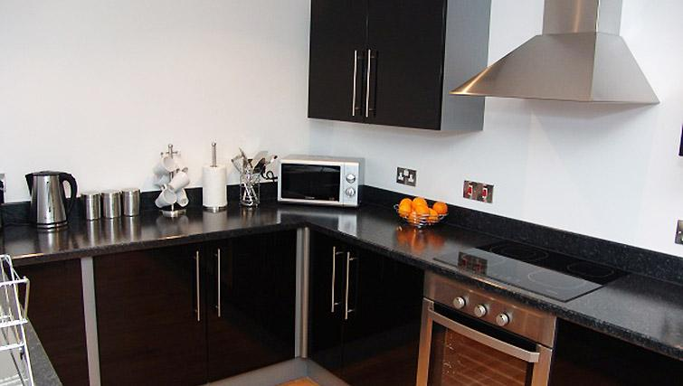 Kitchen at Quay Serviced Apartments - Citybase Apartments
