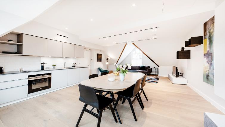 Kitchen at Floral Street Serviced Apartments - Citybase Apartments