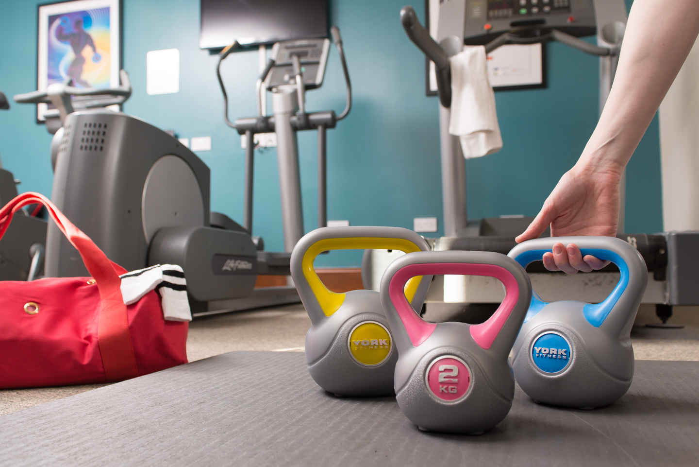 Gym at Staybridge Suites Newcastle - Citybase Apartments