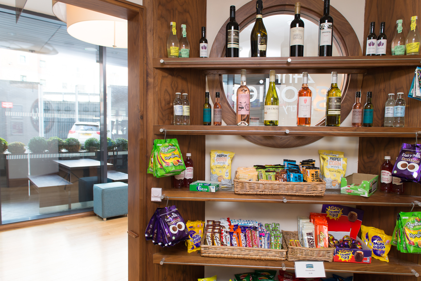 Pantry at Staybridge Suites Newcastle - Citybase Apartments