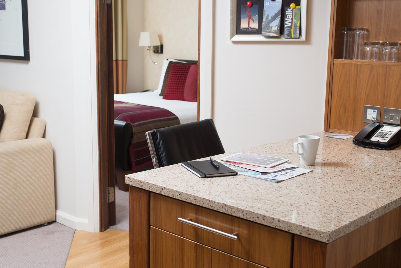 Desk at Staybridge Suites Newcastle - Citybase Apartments