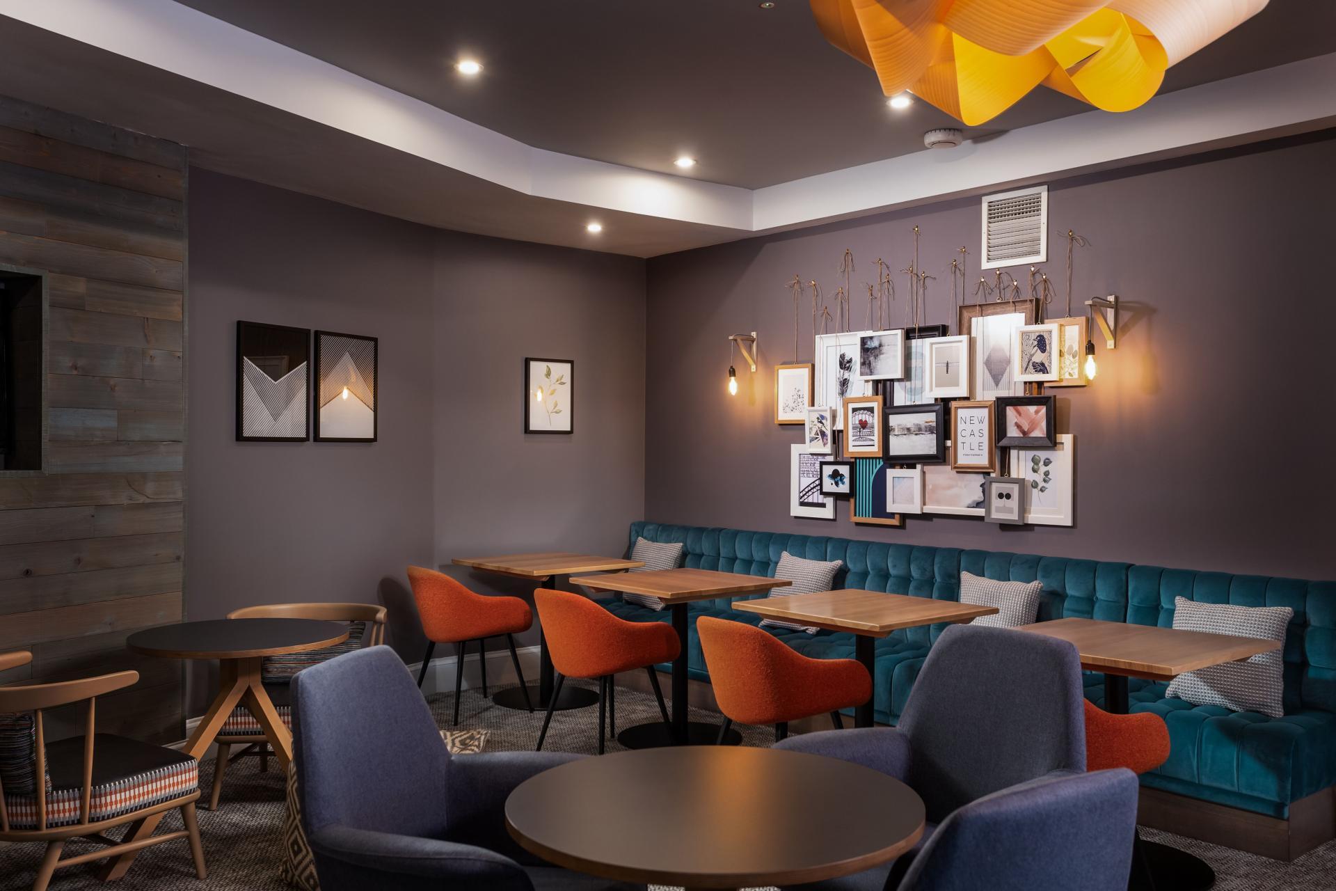 Lounge Area at Newcastle Staybridge Suites Newcastle - Citybase Apartments