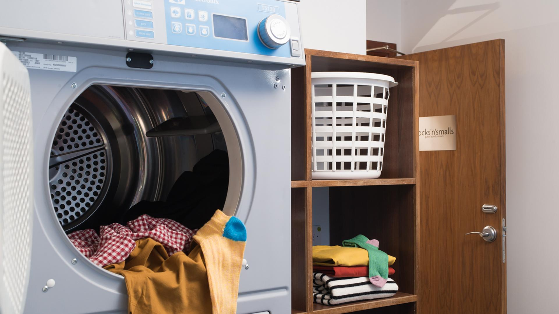 Laundry Facilities at Newcastle Staybridge Suites Newcastle - Citybase Apartments