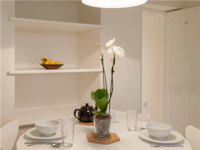 Dining table at The Skylark Studio - Citybase Apartments