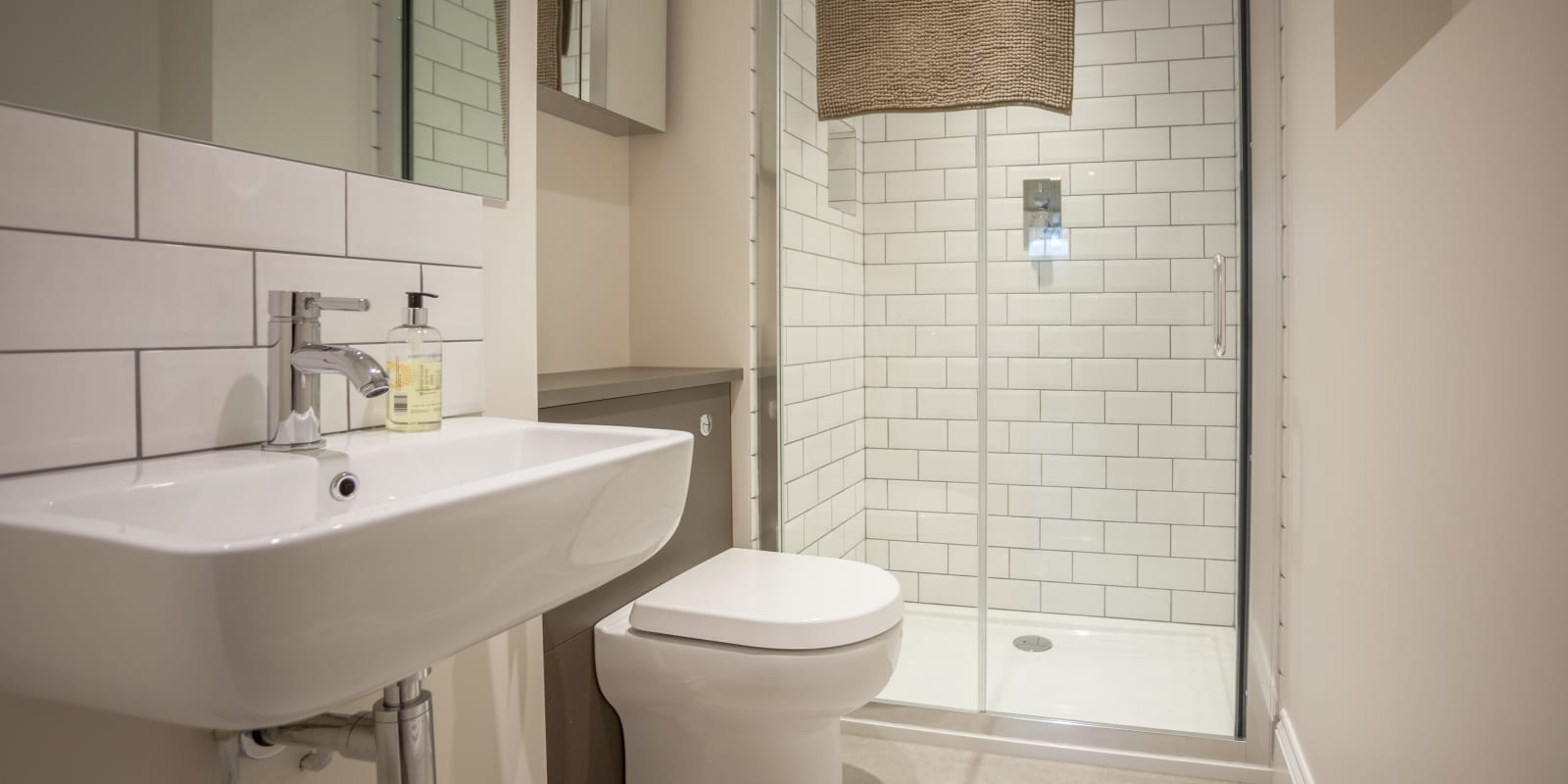 Bathroom at The Skylark Studio - Citybase Apartments