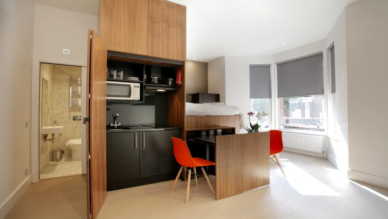 Living room at West Hampstead Apartments - Citybase Apartments