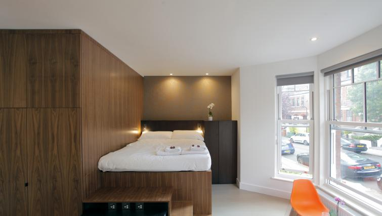 Bedroom at West Hampstead Apartments - Citybase Apartments