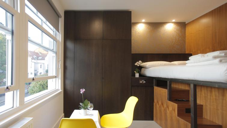 Dining table at West Hampstead Apartments - Citybase Apartments