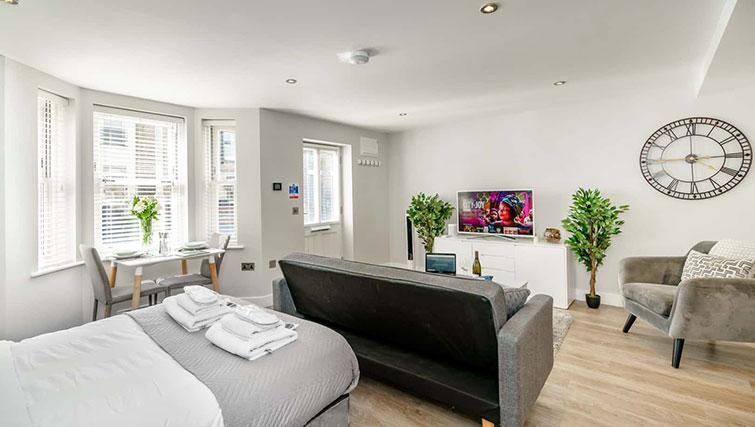 Bedroom at Victoria Road Apartments - Citybase Apartments