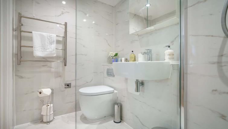 Bathroom at Victoria Road Apartments - Citybase Apartments