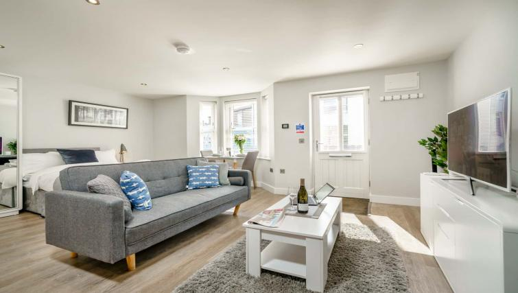 Living space at Victoria Road Apartments - Citybase Apartments