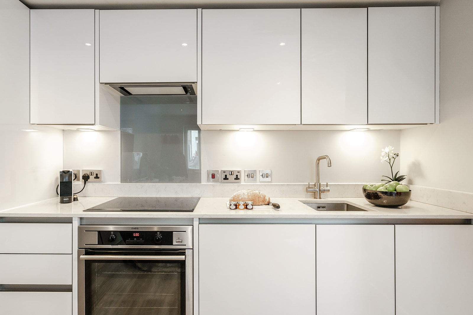 Kitchen at Victoria Road Apartments - Citybase Apartments