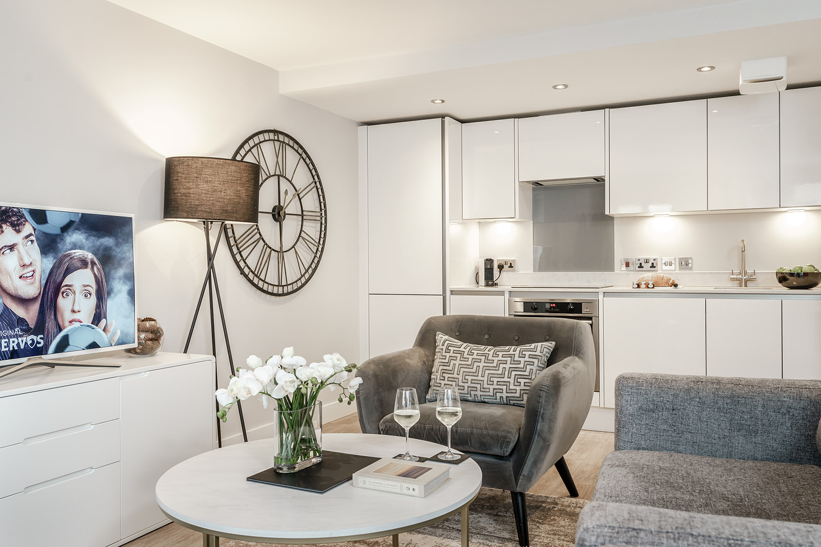 Open Plan Living at Victoria Road Apartments - Citybase Apartments
