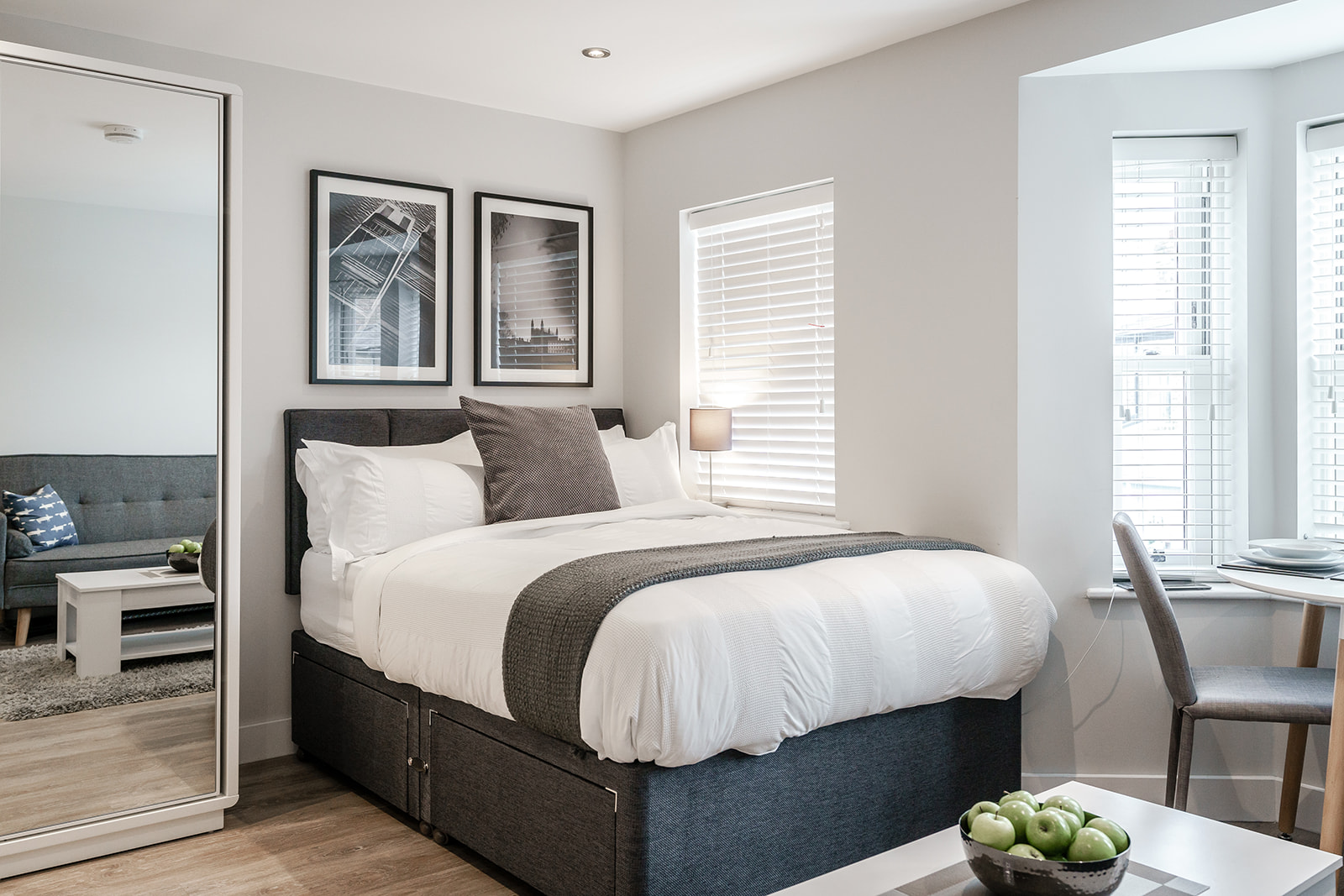 Bedroom at Victoria Road Apartments - Citybase Apartments